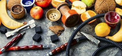 Tobacco fruit hookah.