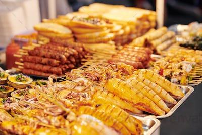 Asian Street Food Market
