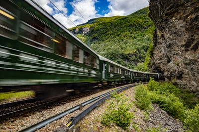 Flam Line is a long railway tourism line between Myrdal and Flam in Aurland, Norway.