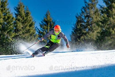 Very good skier