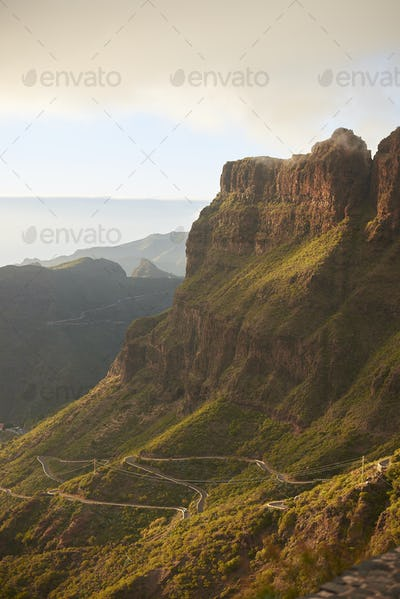 Macizo de Teno in Tenerife, Canary Islands