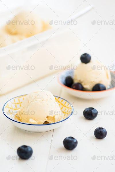 Homemade Vanilla Ice-Cream