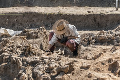 Ancient Burial Site- Archaeological Excavations