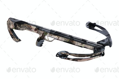 Crossbow isolated on white