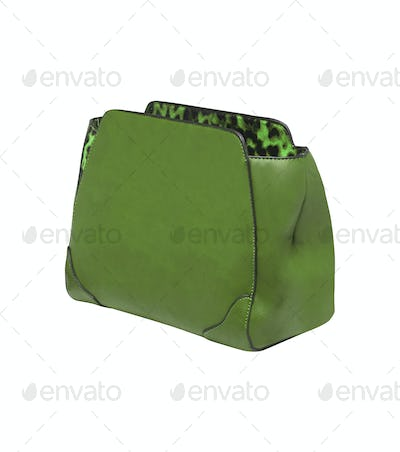 Handbag isolated on white