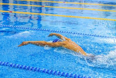 athlete swimmer butterfly stroke swim