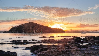 Sunrise at the Bay of Islands