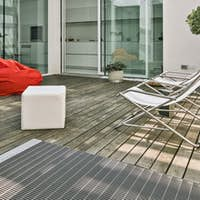 Exterior Shots of a Modern Furnished Terrace