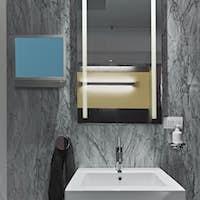 Interiors of a Modern Bathroom