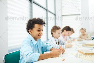 Modern Children At School