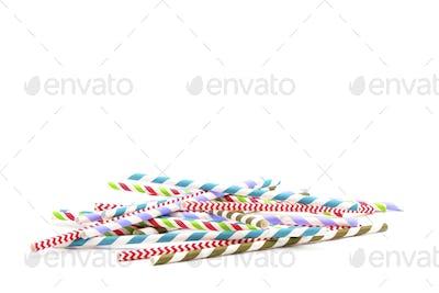 Pile Paper Straws