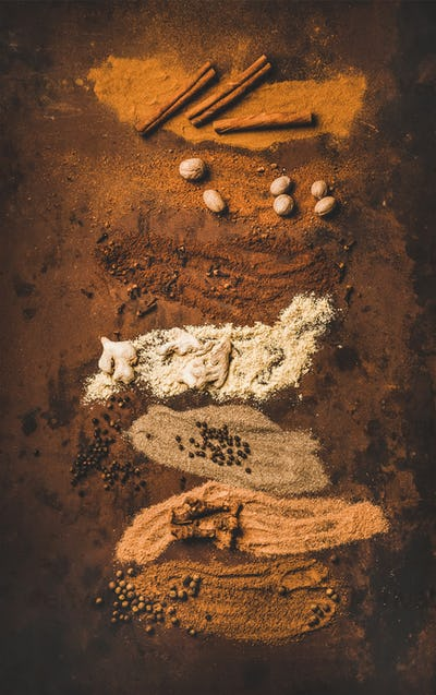 Turkish seven spice Yedi Bahar mix for cooking