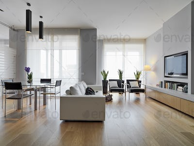 Interiors of the Modern Living Room