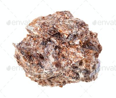 unpolished Phlogopite (magnesium mica) rock