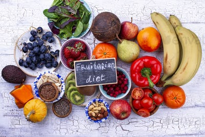 Healthy product for fruitarian diet