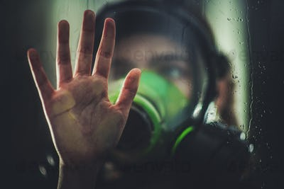 Virus Pandemic Home Quarantine