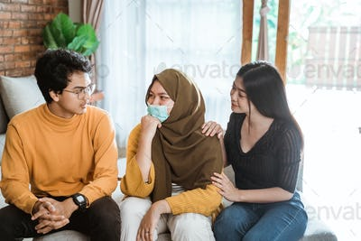friend support during sick