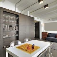 Interiors of a Modern Living Room