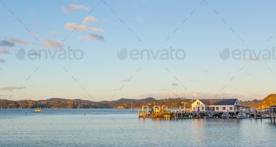 Paihia Jetty in New Zealand