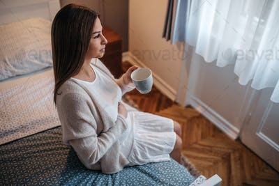 Relaxing is a must for a healthy pregnancy