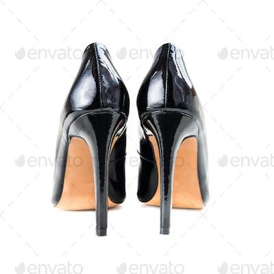Stylish Black Stiletto Shoes or High Heels