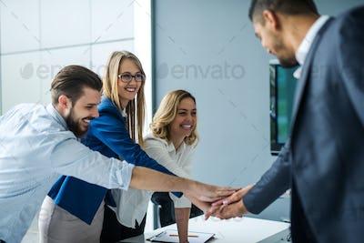 Teamwork ensures success