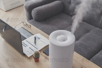 Household humidifier in the workplace