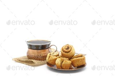 Cinnamon Rolls and Coffee