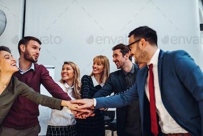 Image of a winning team