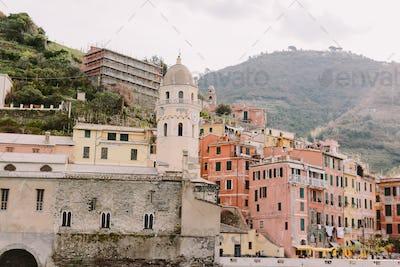 Vernazza view in Cinque Terre