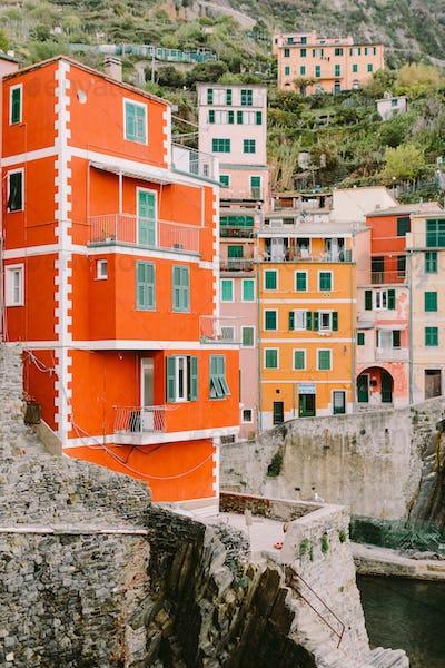 Riomaggiore view in Cinque Terre