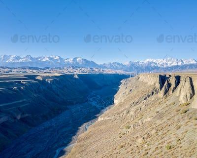 anjihai grand canyon in early morning