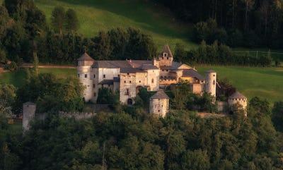 Castle in the Italian Dolomites