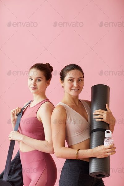 Women training together