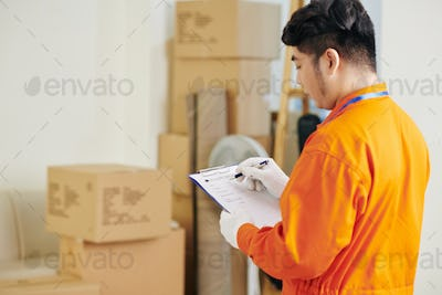 Mover filling document
