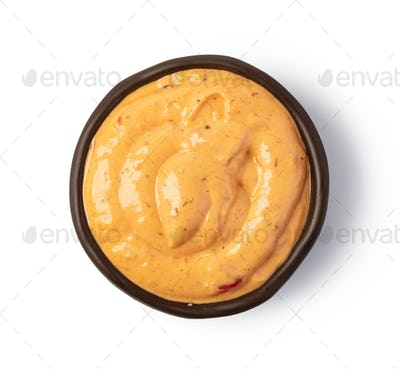 Bowl with Cocktail sauce