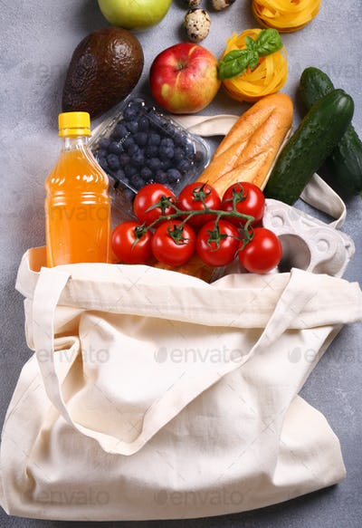 Products in a Shopping Bag