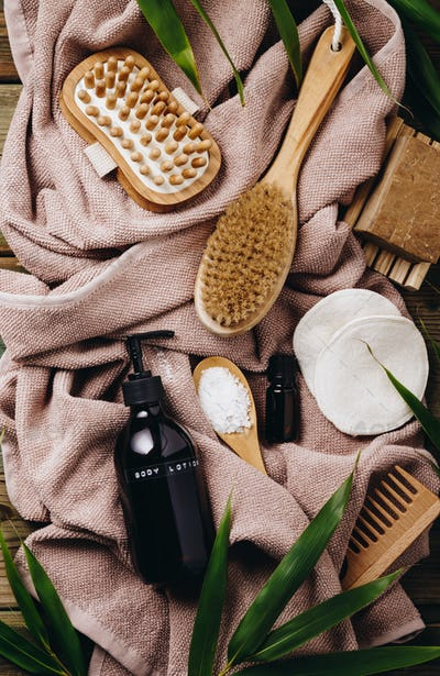 Zero waste, eco friendly bathroom and spa accessories