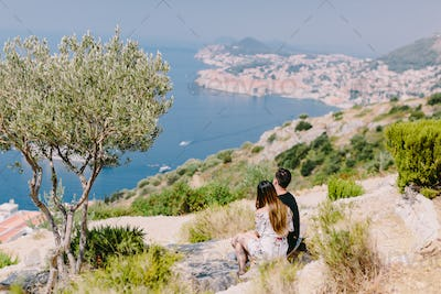 couple travel to Europe, Dubrovnik