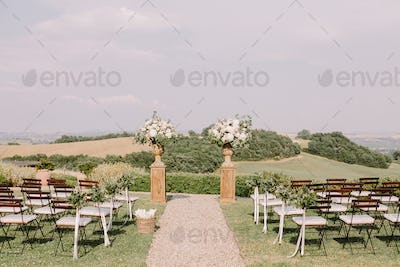 chic wedding venue in Tuscany Italy