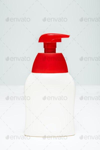 Sanitizer pump plastic bottle