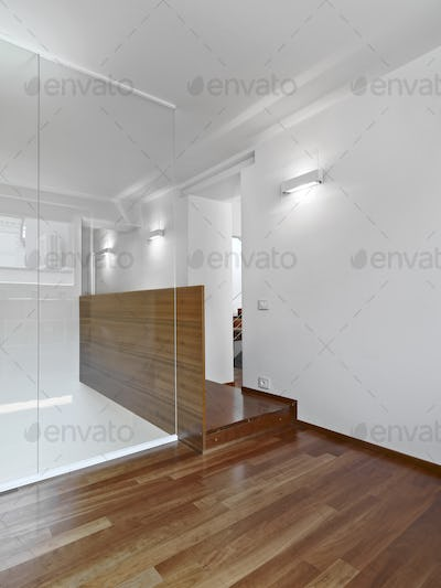 Interiors of a Modern Empty Room