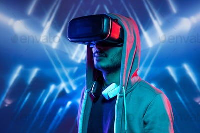 Getting virtual reality experience