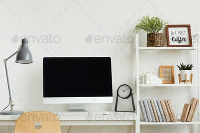 Computer Desk in Modern Apartment