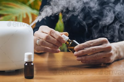 Aromatherapy Essential Oil Home Diffuser