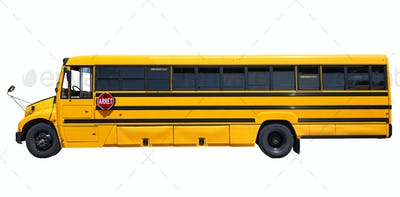 Big yellow shool bus