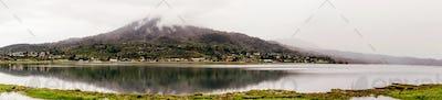 panorama lake Buyan