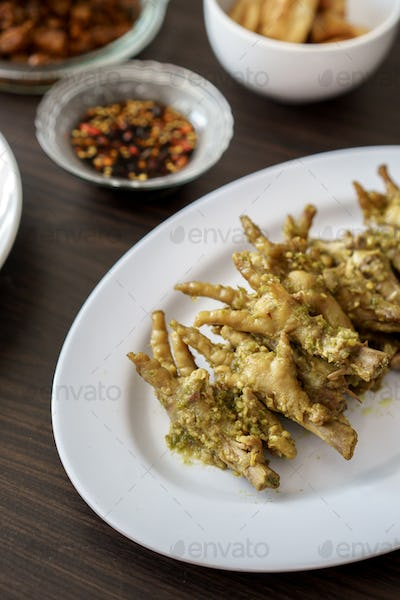asian chicken feet cooking