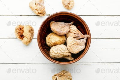 Delicious dried figs
