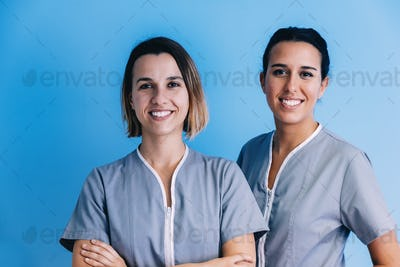 Female Medical Team at hospital.
